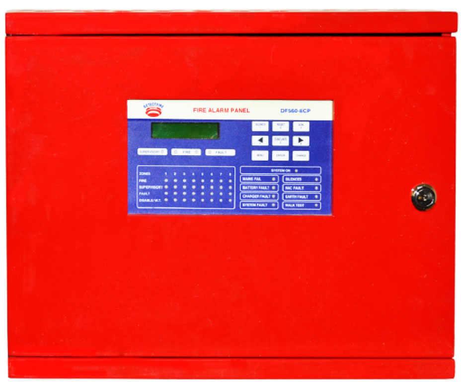 UL Listed Conventional  Control Panel 4 Zone